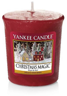 Votivní svíčka Yankee Candle Christmas Magic 49 g