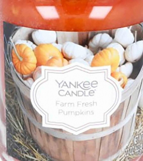 Crumble vosk Yankee Candle Farm Fresh Pumpkins 22g