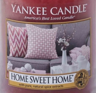 Crumble vosk Yankee Candle Home Sweet Home 22g