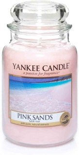 Vonná svíčka Yankee Candle Pink Sands 623g Assorted