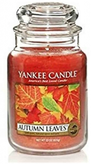 Yankee Candle Autumn Leaves 623g Assorted