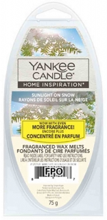Vonný vosk Yankee Candle Sunlight on Snow 75 g 6 kousků
