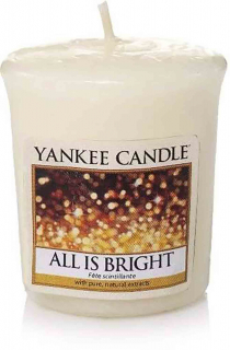 Votivní svíčka Yankee Candle All Is Bright 49 g